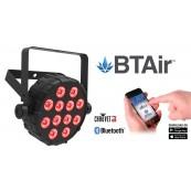 Chauvet DJ SlimPar Projecteur 12 LED's 2.5W RGB - Bluetooth