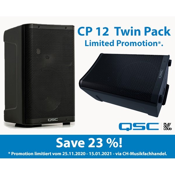 QSC CP12 Twin Pack