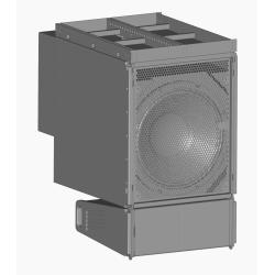 """SUB418-amp 1 x 18"""" Subwoofer auto-amplifié"""