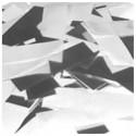 Showtec - Canon à confettis à main 50cm blanc / argenté