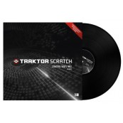 Native Instrument - Traktor Scratch Control Vinyl Fluoresce Orange