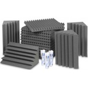 EZ Acoustics Foam Acoustic Pack S Gray