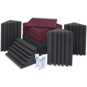 EZ Acoustics Foam Acoustic Pack S Gray/Garnet