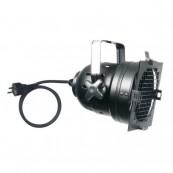 Showtec Par-56 Short noir avec socle PAR-Safe & câble