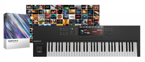 Pack Native Instruments - Komplete Kontrol S61 MK2 + Komplete 13 Ultimate Collectors Edition
