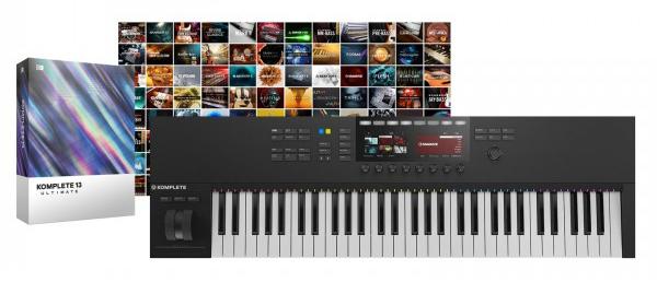 Pack Native Instruments - Komplete Kontrol S61 MK2 + Komplete 13 Ultimate Collectors Edition