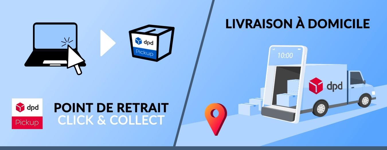 Sonart | Click & Collect et livraison à domicile