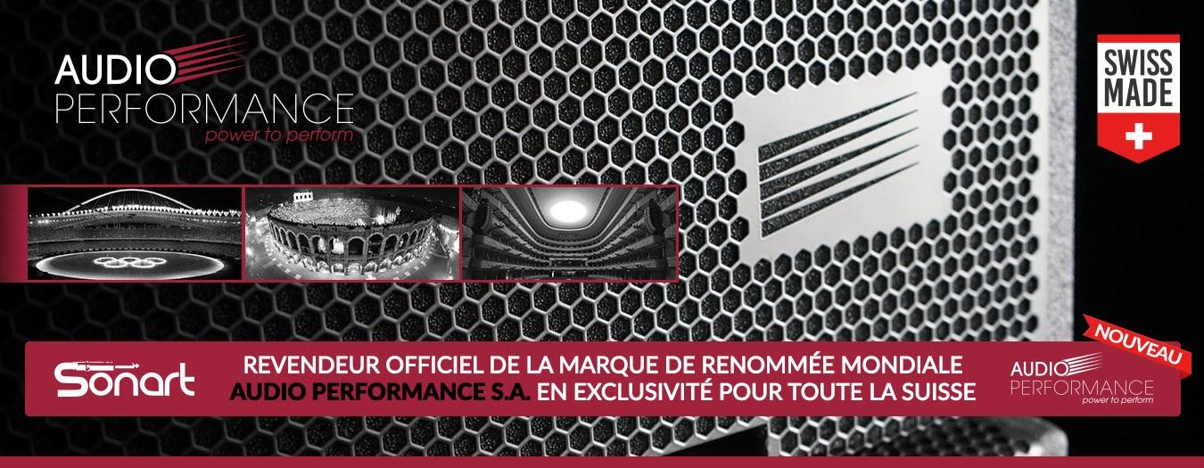 Sonart | Revendeur officiel Audio Performance S.A. en exclusivité pour toute la Suisse